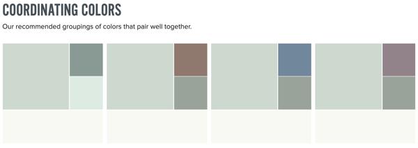 Behr Breeway Coordinating Colors