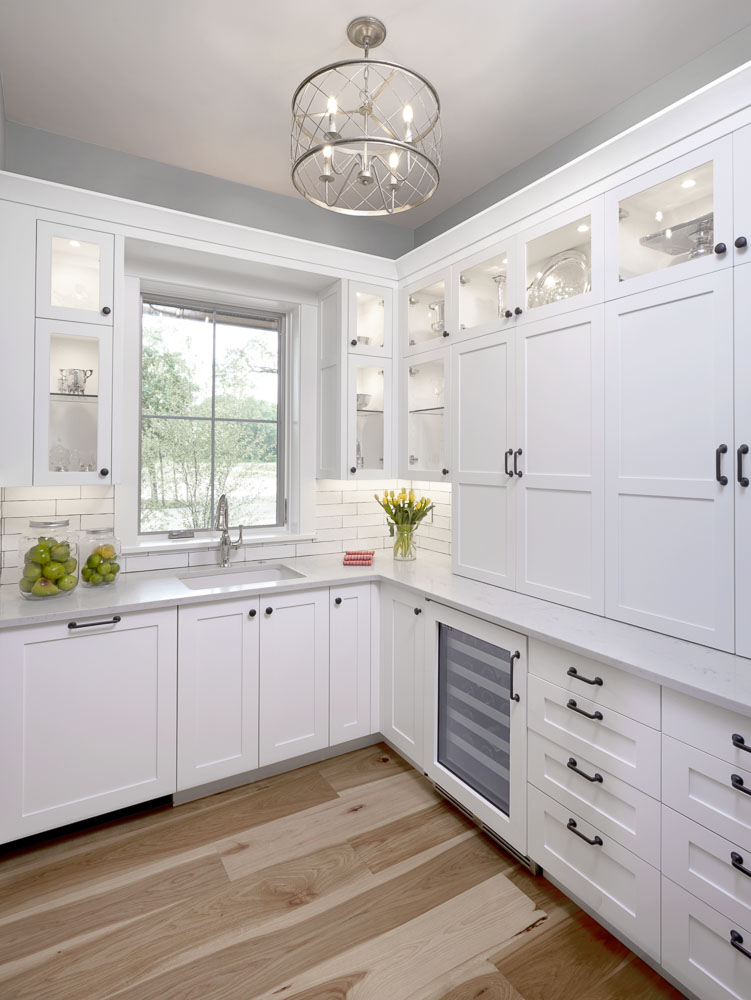 Photo of custom home pantry