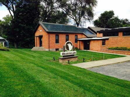 DOW POWERHOUSE Solar Shingles, Michigan one-room schoolhouse, Meadowlark Builders