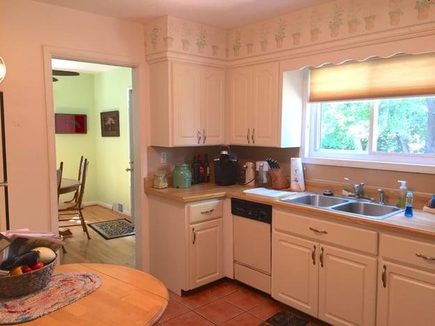 1950's Kitchen before kitchen remodel