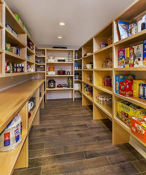 Large Pantry designed by Meadowlark