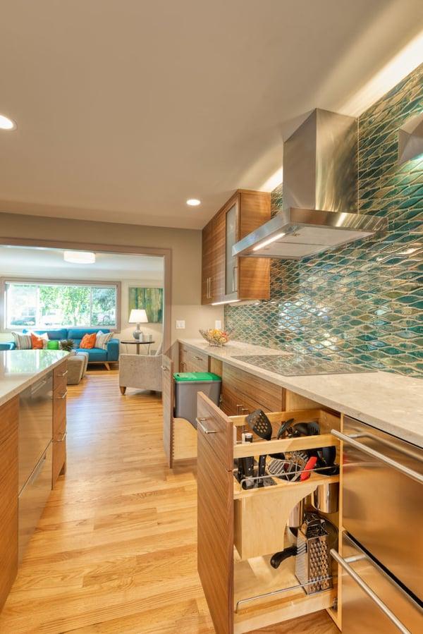 Customized kitchen storage ideas