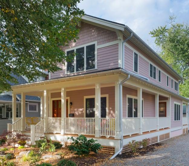 Exterior Photo of LEED Platinum Home