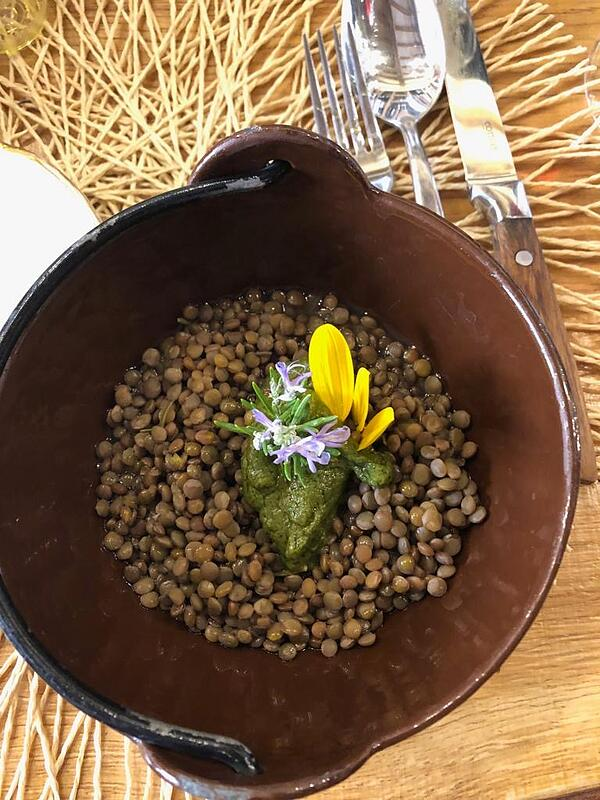 Photo of lentil dish in Italy