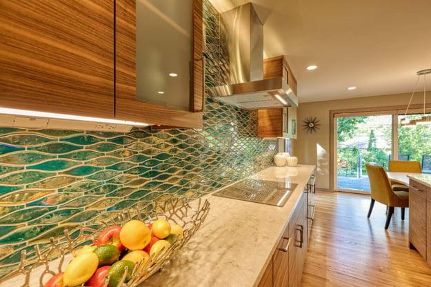 Meadowlark kitchen remodel with quartz countertops
