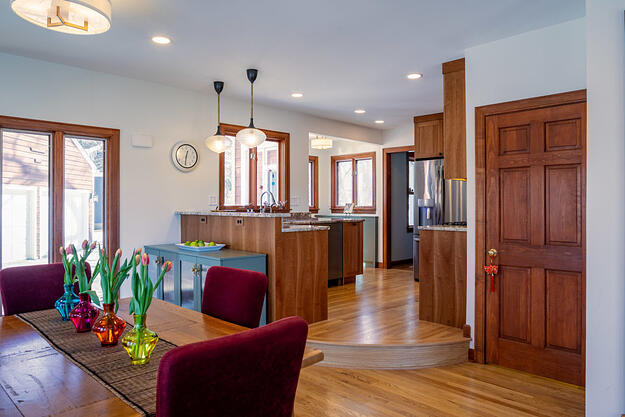total remodeled open kitchen