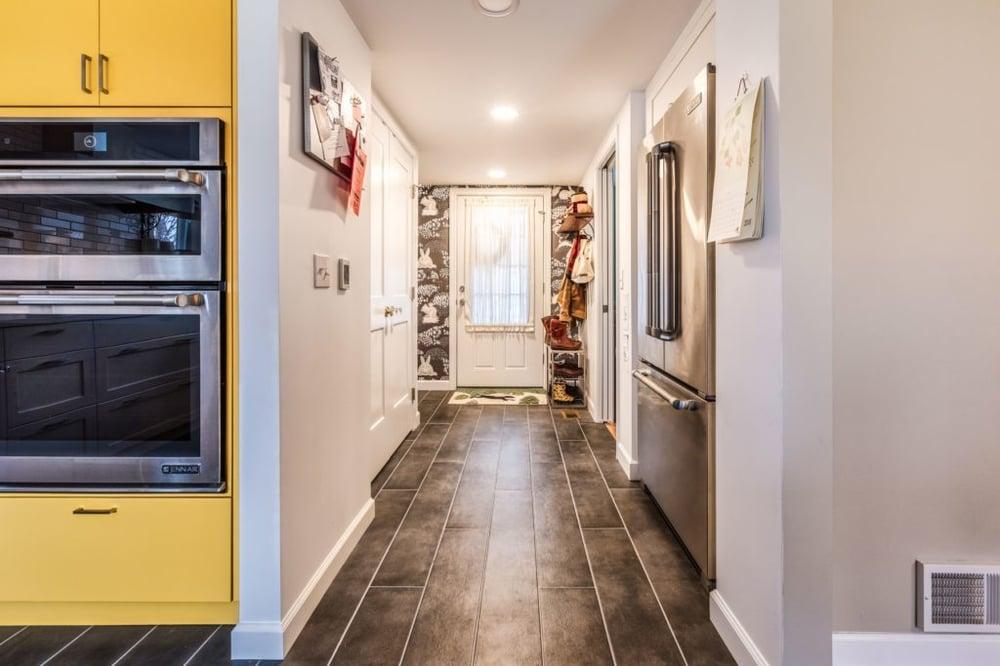 Hallway slash mudroom solutions