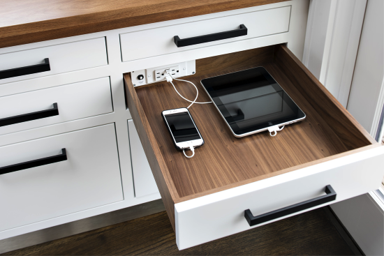 Kitchen Electronics in a drawer
