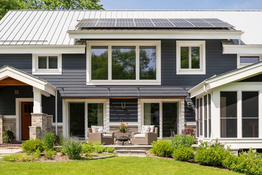Meadowlark Custom Home Using Passive strategies