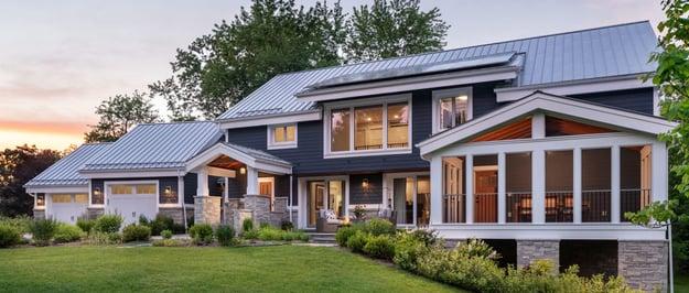 Photo of Meadowlark Custom Home that uses Passive House Techniques