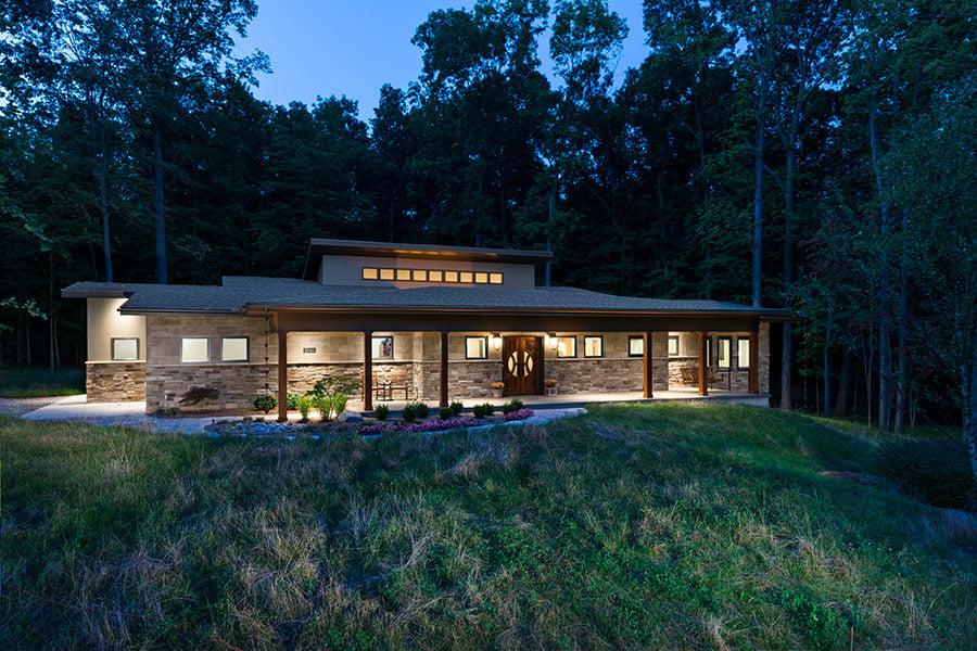 Sustainable Green Custom Home