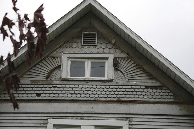 whats under my siding